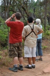 Steve, our guide (Eric), and another birder (Melinda)