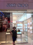 Jimmy Choo and I have a history.  Glad to see it here in Panama City.