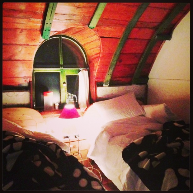 The rooms at Guango Lodge are crazy cute, like storybook cute.