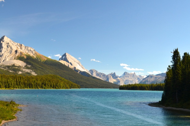 Lake Maligne at Jasper National Park