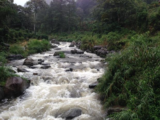 Caldera River in Boquete