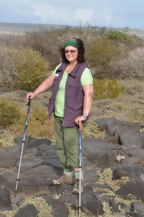 Hiking Espanola Galapagos